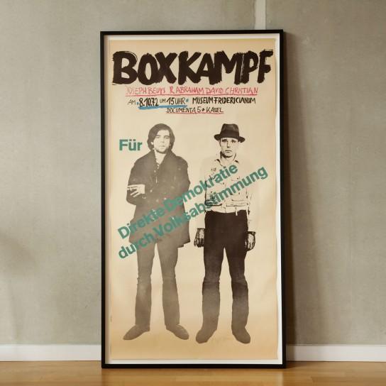 Joseph Beuys, Beuys boxt für Direkte Demokratie