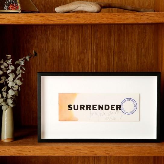 Joseph Beuys, Surrender II