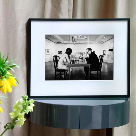 Julian Wasser, The Way We Were / Marcel Duchamp and Eve Babitz, 1963